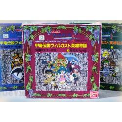 TRES RARE ! Armed Dragon Fantasy Villgust LOTX3 NEUF ! BANDAI 1992 - NO POPY RARE NINTENDO NES