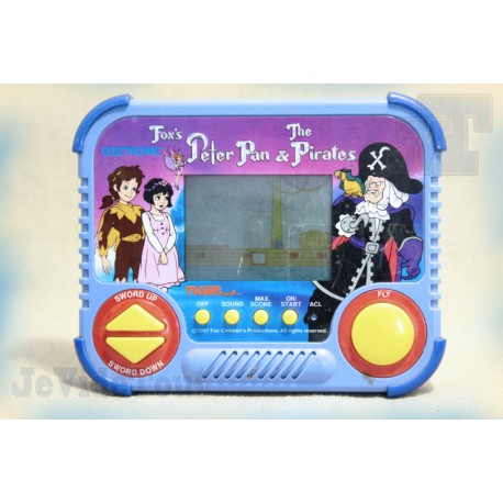 Peter Pan And The Pirates - Tiger - 1991 - Fox Games - Jeu Electronique Vintage - LCD