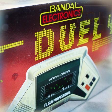 Bandai Electronics - Duel - BOXED - VINTAGE 80'S - Popy - Jeu Electronique Vintage