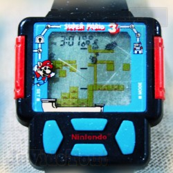 Game And Watch - Super Mario Bros 3 - 1990 - Watch/Montre - Nintendo - Jeu Electronique Vintage 80'S
