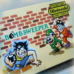 Game And Watch - Bomb Sweeper - 1987 - Nintendo - BOXED Jeu Electronique Vintage 80'S