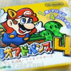 Super Mario Bros 4 - 2003 - Gomme - Nintendo GBA - Jeu Electronique Vintage 80'S