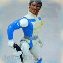 Galaxy Rangers - Doc Hartford - 1986 Galoob - Ideal - RARE Club Dorothée AB TF1 No Popy