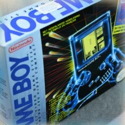 GAME BOY + Tetris - COFFRET BOITE FR 1989 - BOXED - NINTENDO BANDAI Vintage