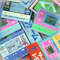 LOT ÉNORME RARE - Collection BANDAI POPY Cards X64 - NEUF SCELLÉ - LCD Game - Game Watch