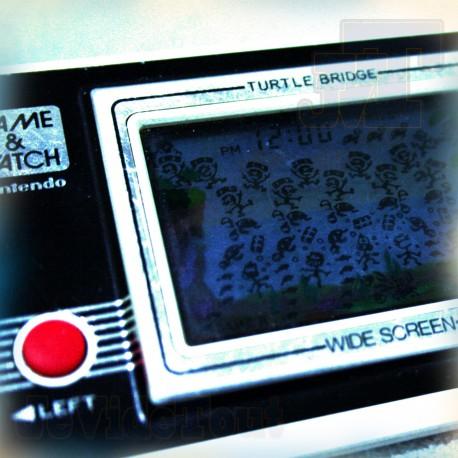 Game & Watch - Turtles Bridges - 1982 - Nintendo Vintage LCD RetroGame Tabletop