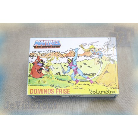 Les Maitres de l'univers - Jeu Domino - 1985 - Volumetrix - Mattel - Filmation - MOTU