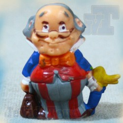 Dr Snuggles - TF1 - 1979 - BOGI - Figurine PVC Vintage - Visiteurs du Mercredi - IZARD