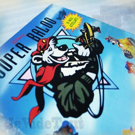 Super Baloo - Album Panini Vintage 1991 - 95/180 - TF1 Disney