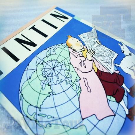 Tintin - Album Panini France Vintage 1989 - Hergé - Vide