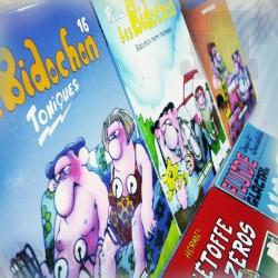 LOT BD - Les Bidochons - Fluide Glacial - Hedran - Binet - Revue