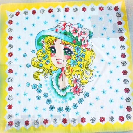 Candy - Mouchoir 25X25 - Trés Rare - Vintage - Toei - Dorothée