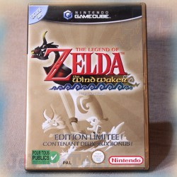 ZELDA Wind Walker - Edition Lilitée - Nintendo GameCube - COMPLET en BOITE - Vintage RARE