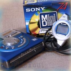 Mini Disc Sharp - MD Walkman/Enregistreur Numérique - Vintage 90'S