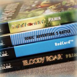 LOT X4 JEUX - Nintendo GameCube - Pikmin - Sonic - Redcard - Bloody Roar - COMPLET en BOITE - Vintage