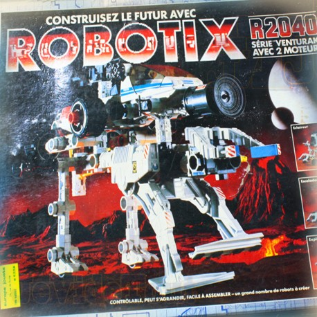 Robotix - Venturak - 1980'S - MB - Vintage - Rare