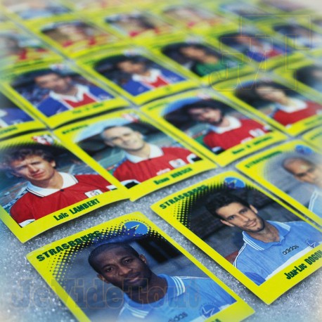Foot 98 - Lot X53 Autocollant Stickers Panini - France Vintage 1998