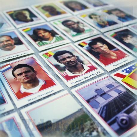 World Cup USA 94 - Lot X22 Autocollants Stickers Panini - France Vintage 1994