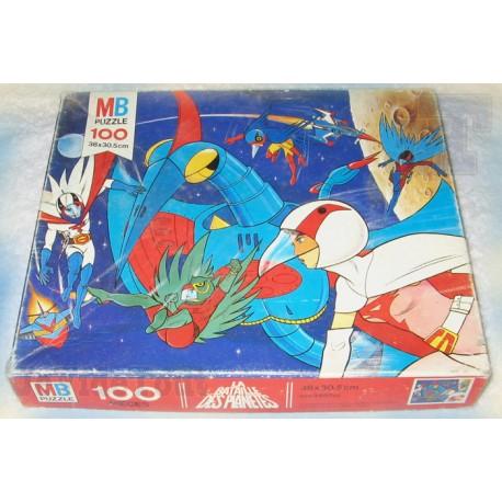 Bataille Des Planètes - Puzzle X100 - 1979 - MB - Club Dorothée - Croque-Matin - Gatchaman