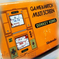 Game And Watch - Donkey Kong - 1982 - Nintendo - BOXED Jeu Electronique Vintage 80'S