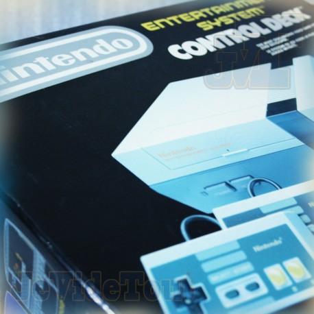 Console Nintendo NES - 1985 BOITE FR - 2 Manettes - Control Deck COMPLET - Vintage BOXED