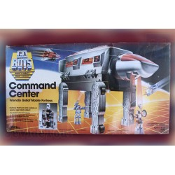 Go-Bots - Command Center - Tonka - 1984 - Rare - Vintage - Neuf