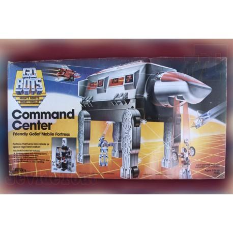Go-Bots - Command Center - Tonka - 1984 - Rare - Vintage - Neuf