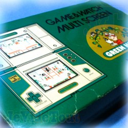 Game And Watch - Green House - 1982 - Nintendo - BOXED Jeu Electronique Vintage 80'S