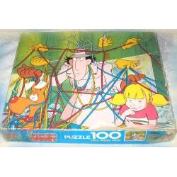 Inspecteur Gadget - Puzzle X100 - 1983 - MB - Club Dorothée - FR3 - Récré A2
