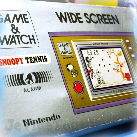 Game And Watch - Snoopy Tennis - 1982 - COMPLET EN BOITE - Nintendo Jeu Vintage 80'S
