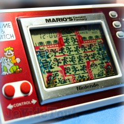Game And Watch - Mario's Cement Factory - 1983 - Nintendo - Jeu Electronique Vintage 80'S