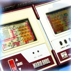 Game And Watch - Mario Bros - 1983 - Nintendo - Jeu Electronique Vintage 80'S