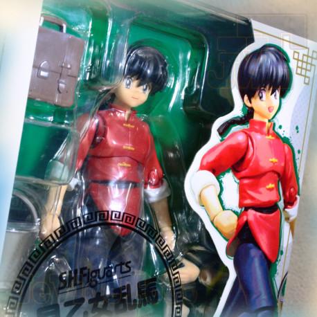 Ranma 1/2 - Saotome Boy - SH Figuart 13cm - NEUF SCELLE Bandai - Club Dorothée