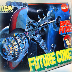 Capitaine Flam - Cyberlabe - Complet - POPY - Die Cast Vintage - Popinica PB-78 - Captain Future - Club Dorothée