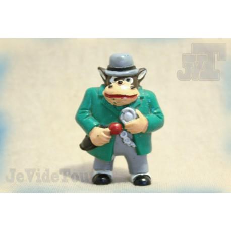Sherlock Holmes - Yolanda - Inspector Lestrade - Figurine Vintage - Rare - Club Dorothée - Récré A2