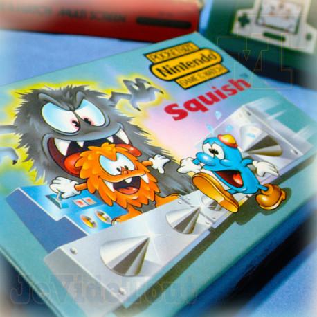 Game And Watch - Squish - 1986 - EN BOITE - EXCELLENT ETAT - Nintendo Jeu Vintage 80'S
