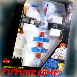 Capitaine Flam - Cyberlabe DX - 1980 - POPY Vintage - BIG SIZE - Future Comet - Captain Future - Club Dorothée