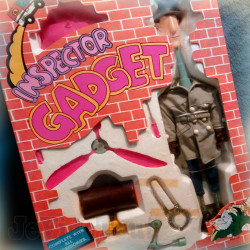 Inspecteur Gadget - Gadget - 1989 - BOITE NEUF SCELLE - DIC FR3 Vintage Complet - Hasbro