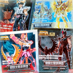 Chevaliers Du Zodiaque - LOT X4 PHOENIX - MYTH CLOTH JAPAN - BANDAI - Dorothée - Saint Seiya
