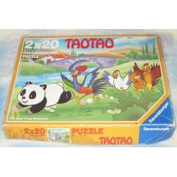 Tao Tao - Puzzle X2 - FR3 - Ravensburger - Sam'Dynamite - Rare