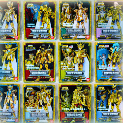 Chevaliers Du Zodiaque - LOT X12 - MYTH CLOTH BANDAI - Dorothée - Saint Seiya - Chevaliers d'Or