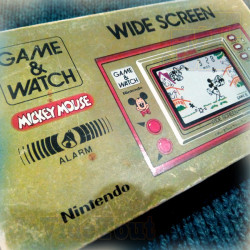 Game And Watch - Mickey Mouse - 1981 - EN BOITE - Nintendo - Jeu Vintage 80'S