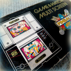 Game And Watch - Pinball - 1982 - EN BOITE - Nintendo - Jeu Vintage 80'S