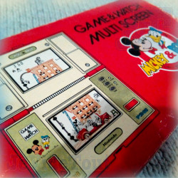 Game And Watch - Mickey Et Donald - 1982 - EN BOITE - Nintendo - Jeu Vintage 80'S