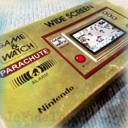 Game And Watch - Parachute - 1981 - EN BOITE - Nintendo - Jeu Vintage 80'S