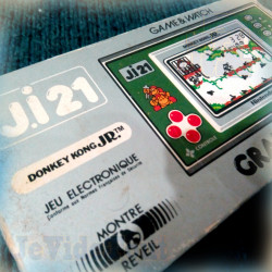 Game And Watch - Donkey Kong JR - 1982 - JI.21 BOITE FR TRES RARE - Nintendo Jeu Electronique Vintage 80'S