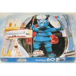 Village Dans Les Nuages - Puzzle X60 - MB - 1982 - TF1 - Izard