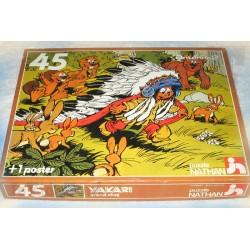 Yakari - Puzzle X45 - Nathan - 1982 - Récré A2