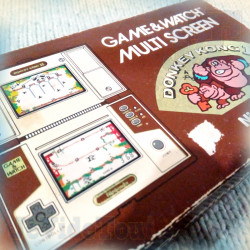 Game And Watch - Donkey Kong 2 - 1983 - Nintendo - BOXED Jeu Electronique Vintage 80'S