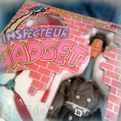Inspecteur Gadget - Gadget - 1983 - COMPLET BOITE FRANCE - BANDAI DIC FR3